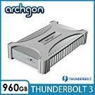 archgon X70 II外接式固態硬碟Thunderbolt 3-960GB -鑽石銀