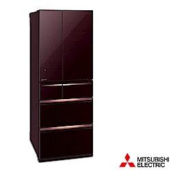MITSUBISHI三菱 605L 1級變頻6門電冰箱 MR-WX61C 日本原裝