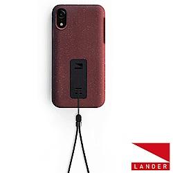 美國 Lander iPhone XR Moab 防摔手機保護殼 - 紅(附手繩)