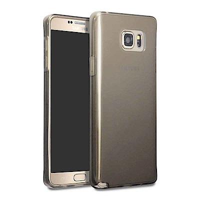Samsung Galaxy Note  5  N 9200  晶亮清透高質感保護套(透黑)