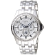 GUESS 紐約時尚風全月曆手錶-銀白-GWW0147L1-40mm product thumbnail 1
