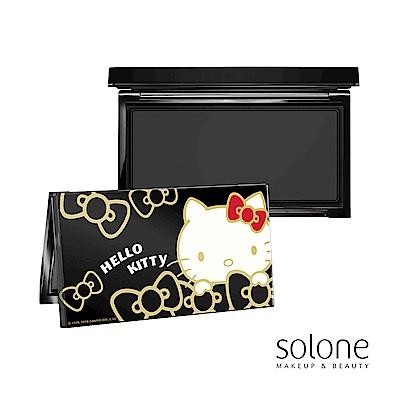 Solone Hello Kitty 奢華黑金彩盒(8色眼影收納盒)