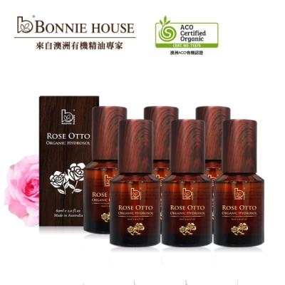 Bonnie House 玫瑰純露60ml 6入組