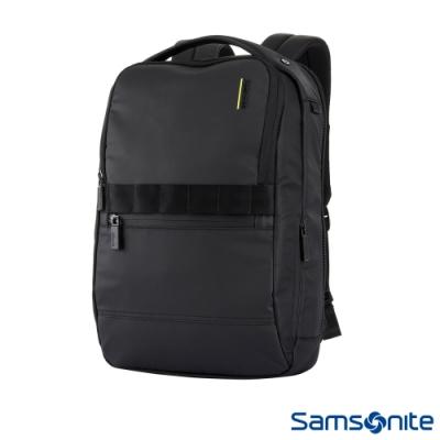 (6/1 10:00 ~6/21 10:00 送超贈點500) Samsonite新秀麗 Vangarde輕量型RFID防竊筆電後背包(黑)