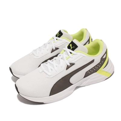 Puma 慢跑鞋 Space Runner 運動 男鞋 透氣 網布 基本款 百搭 輕量 舒適 白 黑 193723-02