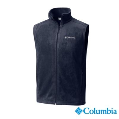 Columbia 哥倫比亞 男款-Fleece刷毛背心-深藍UAE15350
