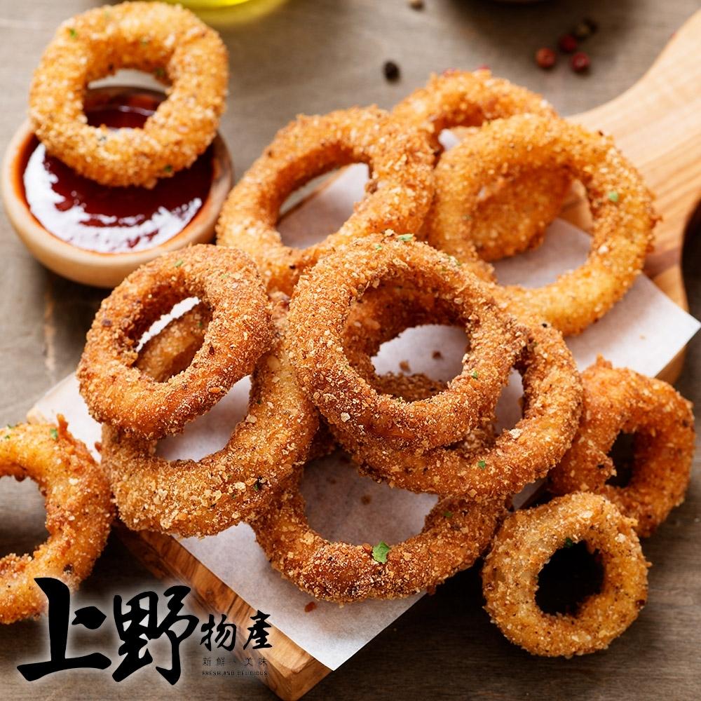 【上野物產】美國冷凍薯製大廠 麥肯洋蔥圈(200g土10%/包) x5包