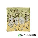 日本丸真 Moomin今治三層紗布方巾-漫步森林