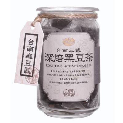 曼寧 台灣花茶-深焙黑豆茶(8gx20包)