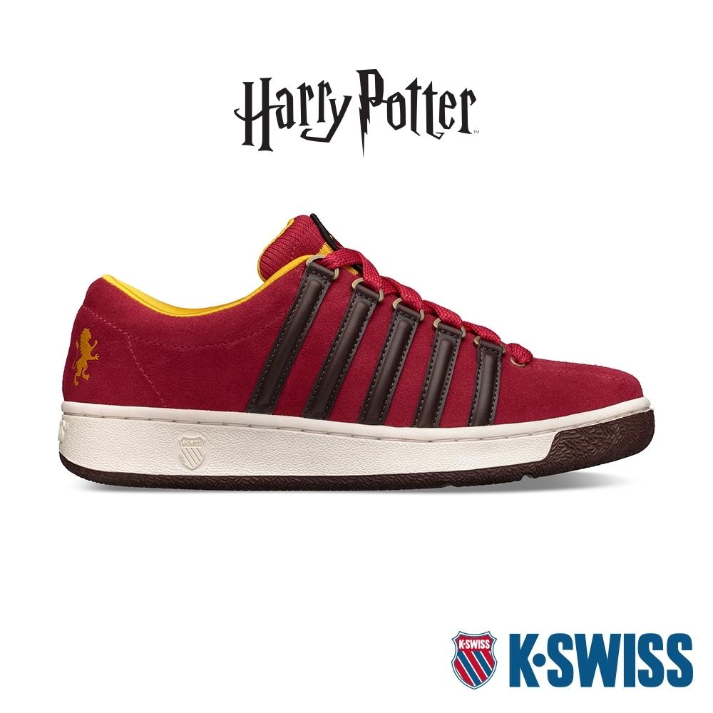 K-SWISS Classic 2000 X Harry Potter哈利波特聯名經典款-男-紅/黃/咖啡
