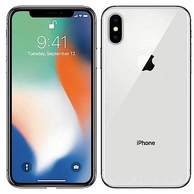 【福利品】Apple iPhone X (64G)-5.8吋智慧型手機--銀色