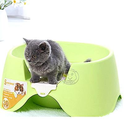 DYY》簡約馬桶造型貓砂盆‧兩種顏色