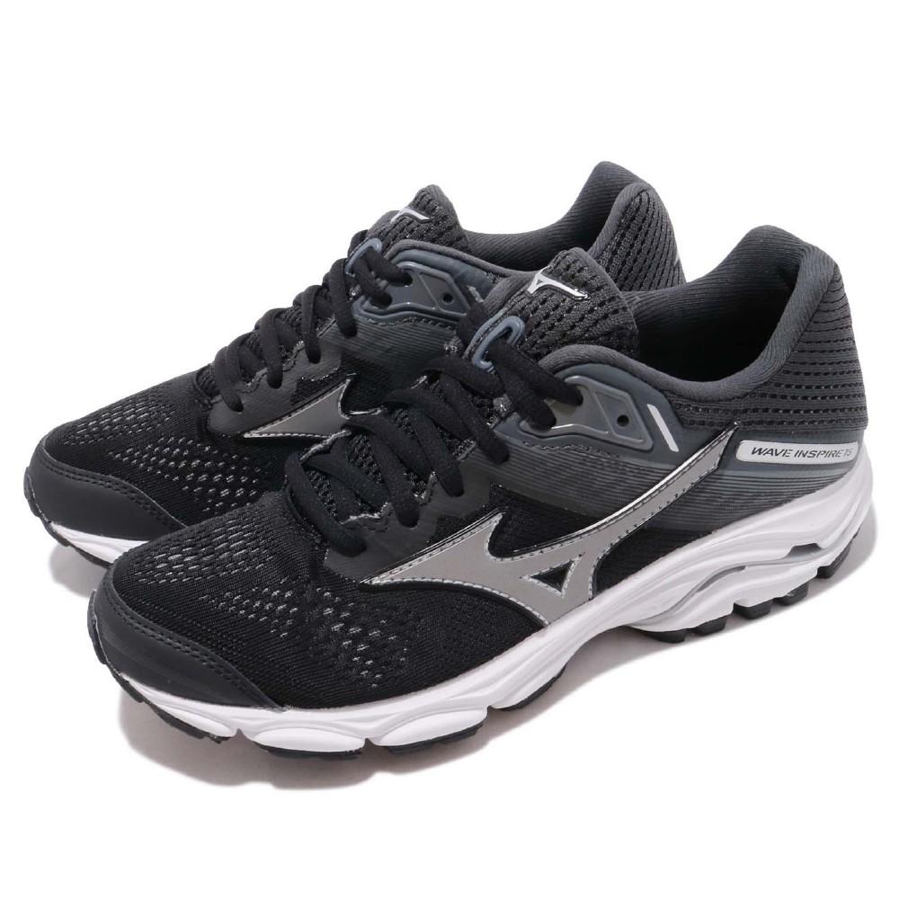 Mizuno 慢跑鞋 Wave Inspire 15 寬楦 女鞋