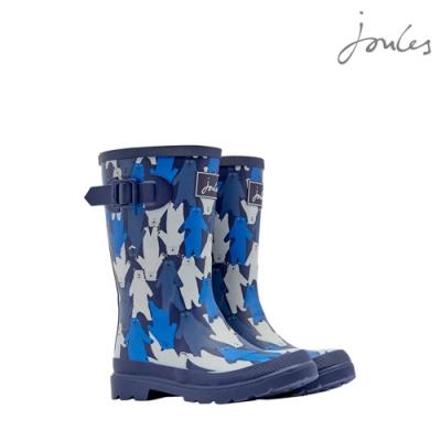英國【Joules】藍小熊雨靴
