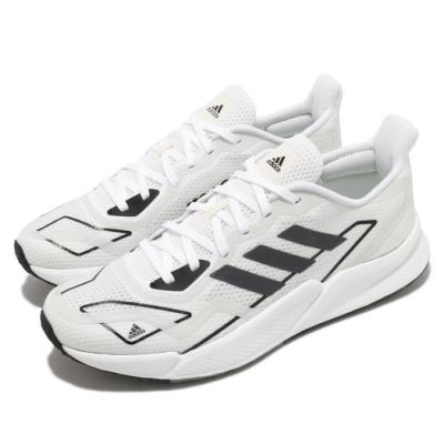 adidas 慢跑鞋 X9000L2 M 運動 反光 男鞋 愛迪達 輕量 透氣 舒適 避震 路跑 白 黑 FX8383