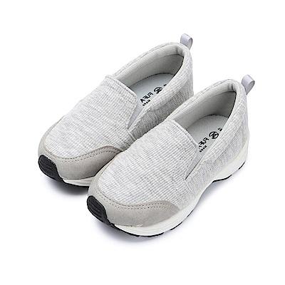 BuyGlasses 輕柔休閒童款懶人鞋-灰