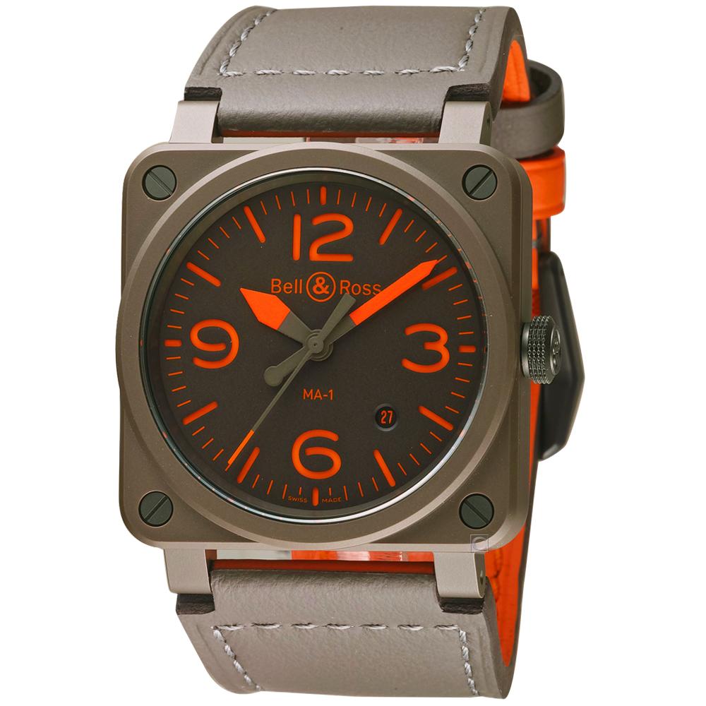 Bell&Ross時尚陶瓷機械錶(BR0392-KAO-CE/SCA)