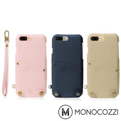 MONOCOZZI Posh 掛繩口袋皮套 for iPhone 7/8