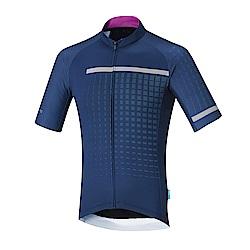 【SHIMANO】BREAKAWAY 短袖車衣 海軍藍