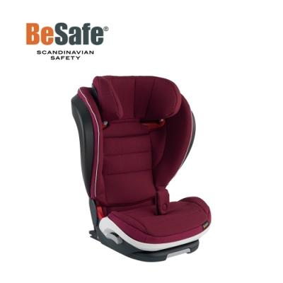 BeSafe iZi Flex FIX 成長型兒童汽車安全座椅-勃艮第紅