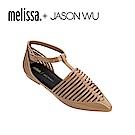 Melissa + JASON WU 尖頭平底鞋-咖啡色