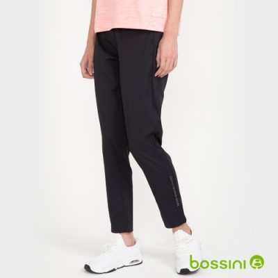 bossini女裝-運動長褲黑