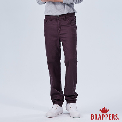 BRAPPERS 男款 HC-Cargo系列-中腰彈性直筒褲-咖啡