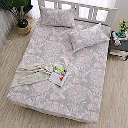 DESMOND岱思夢 單人 天絲床包枕套二件組(3M專利吸濕排汗技術) 安娜