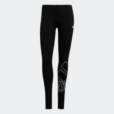 ADIDAS 長褲 運動長褲 緊身褲 運動 健身 慢跑 女款 黑 GM5535