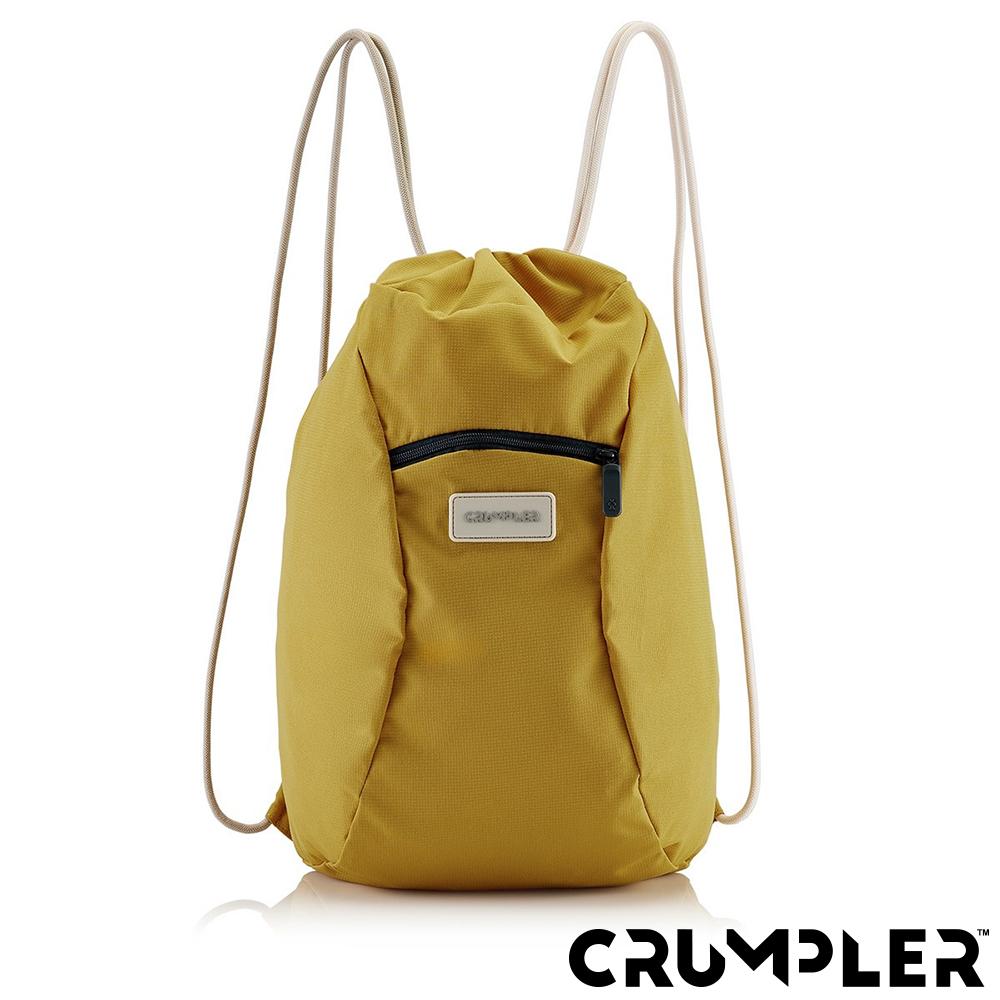 Crumpler 小野人 SQUID漂浮 束口後背包 芥末黃