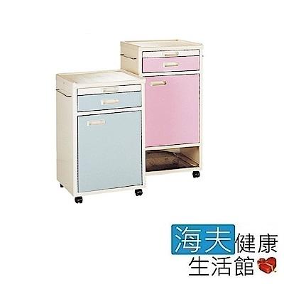 海夫 耀宏 YH015 床頭櫃 高76公分 安全卡榫 附輪 有輪子