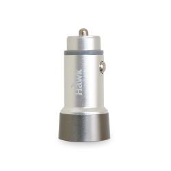 Hawk QC3.0鋁合金雙USB車充(01-HQC530)