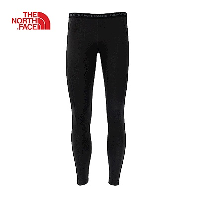 The North Face北面女款黑色輕便透氣運動發熱褲|CL80KX7