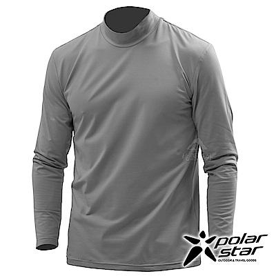 PolarStar 男 遠紅外線高領保暖衣『炭灰』 P18251