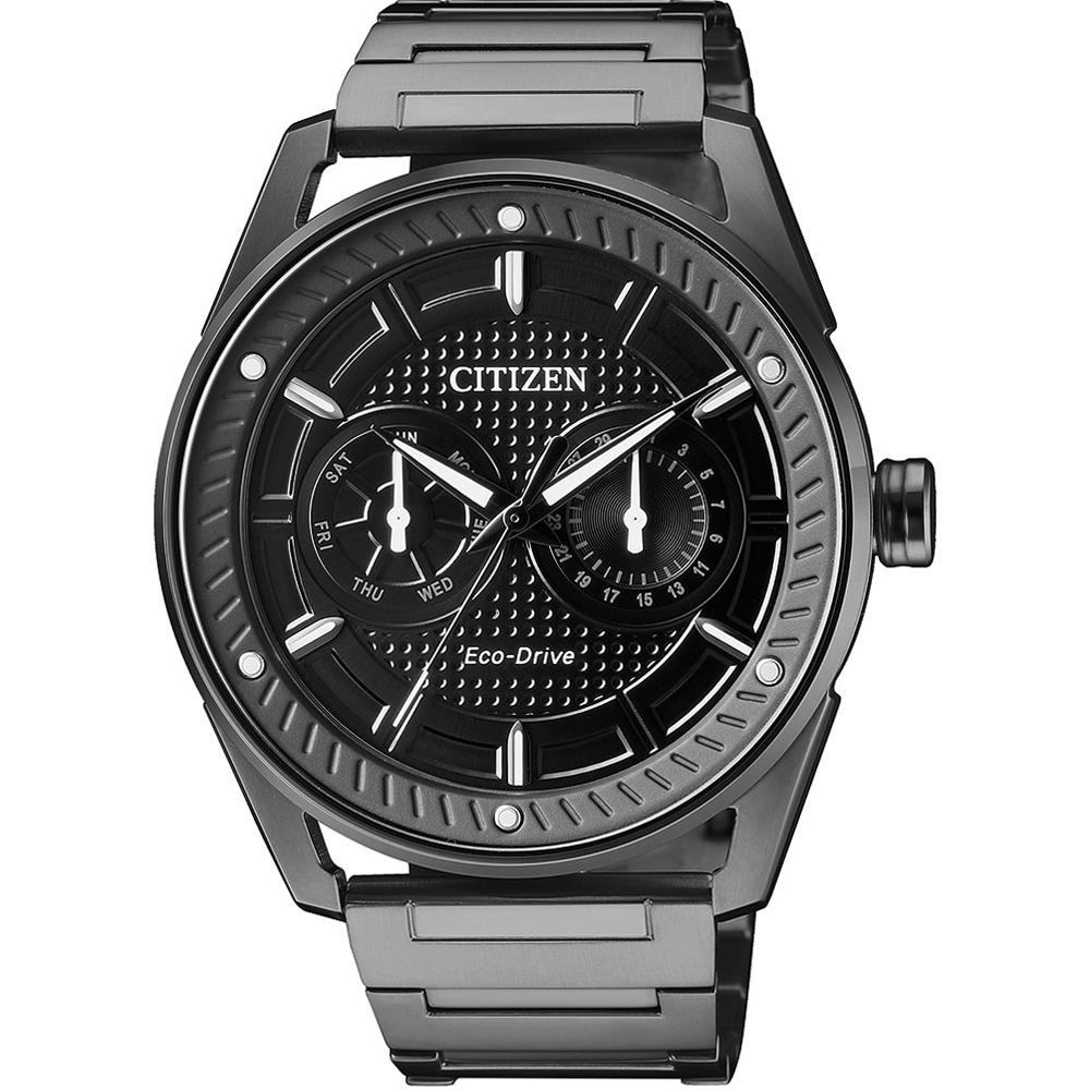 CITIZEN 星辰 GENTS系列勁能驅動時尚腕錶(BU4028-85E)-42mm
