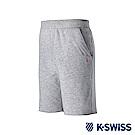 K-Swiss Logo Sweatshorts棉質短褲-男-灰