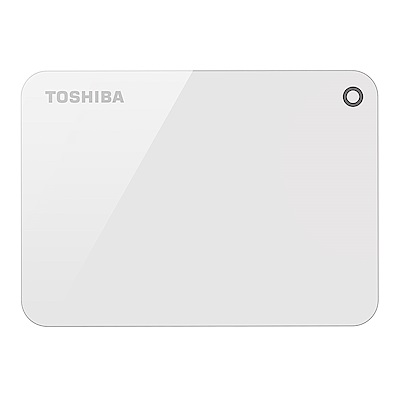 Toshiba 先進碟V9 4TB 2.5吋USB3.0外接式硬碟(清新白)