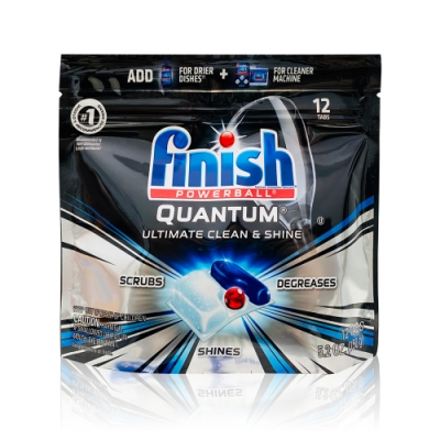美國進口 Finish 洗碗機專用強效型洗碗凝膠球 12入