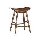 Bernice-格爾實木吧台椅/高腳椅/單椅(低)-47.5x35x63.5cm