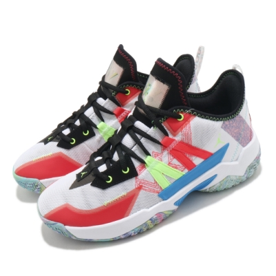 Nike 籃球鞋 Jordan One Take II 男鞋 喬丹 避震 包覆 運動 球鞋 穿搭 白 紅 CW2458101