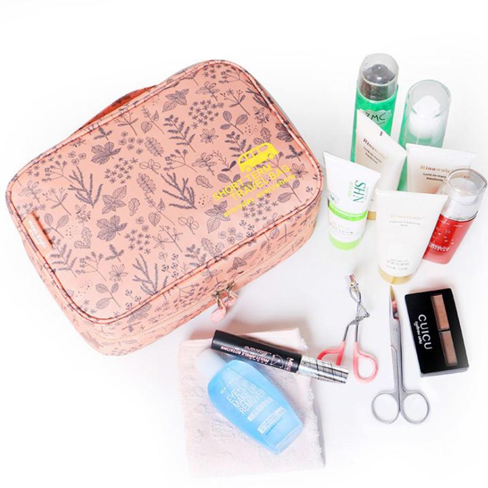 【暢貨出清】JIDA 420D加密防水小清新可懸掛盥洗化妝包(4色)