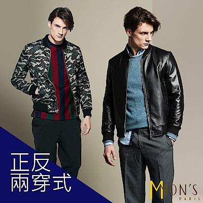 MONS  飛行夾克/外套/皮衣(100%羊皮)