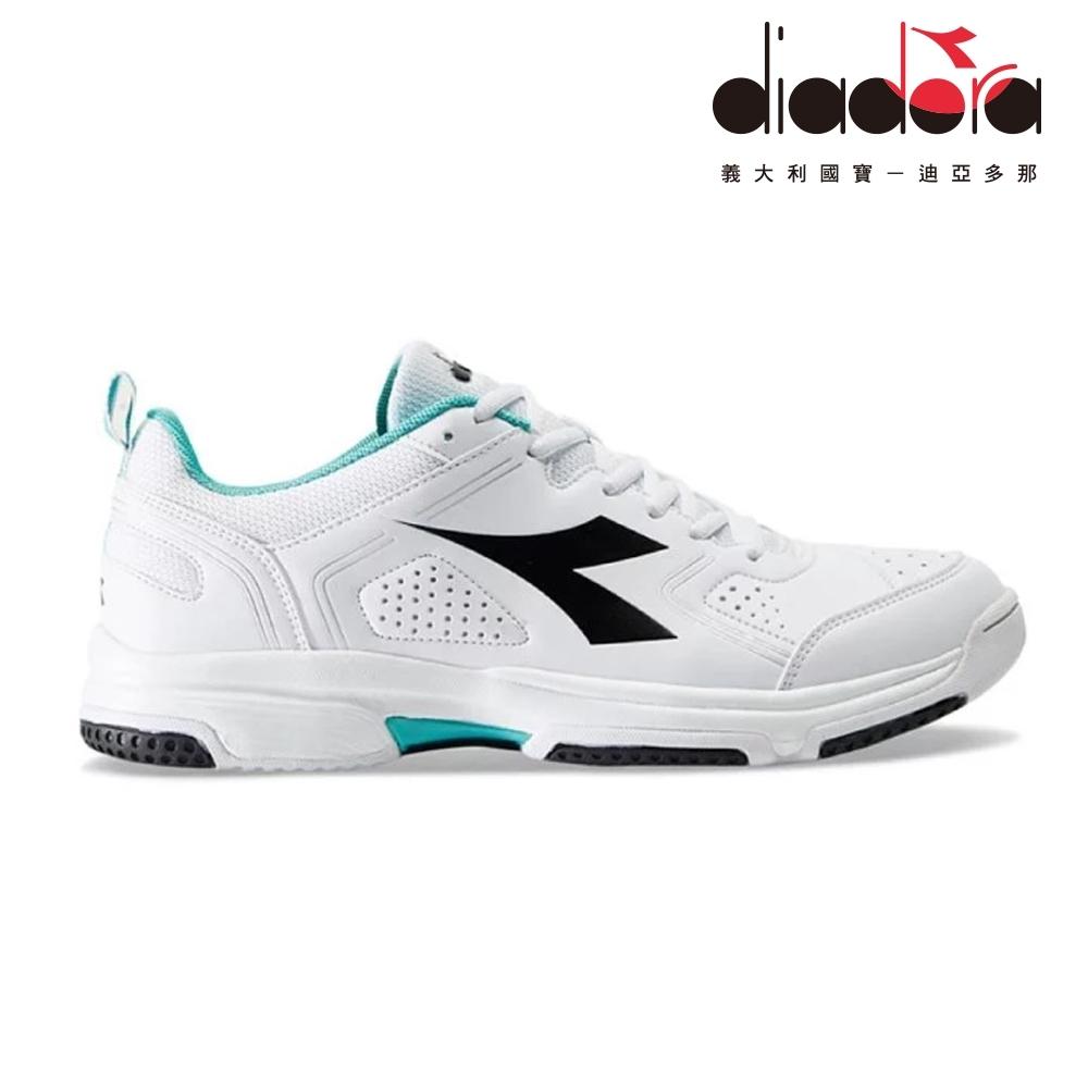 Diadora VOLEE 2 男網球鞋 白綠 DA174434-C7881