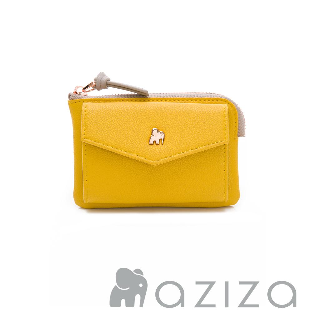 aziza 信封零錢包-黃