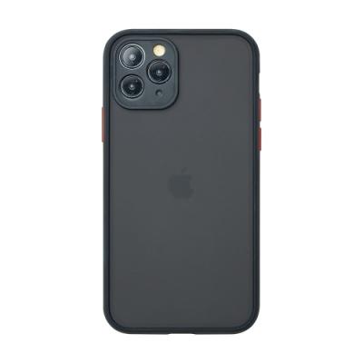 【TOYSELECT】iPhone 11 Pro Max 醇色MELLOW減震防摔手機殼 - 太空黑
