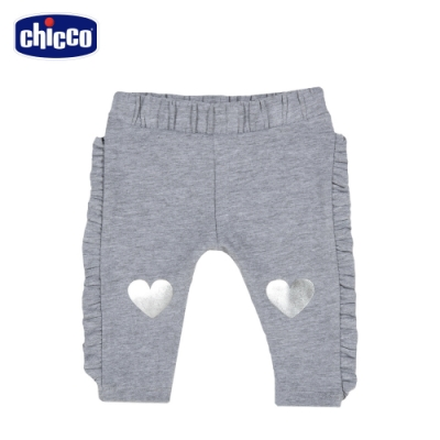 chicco-To Be BG-脇邊荷葉彈性長褲