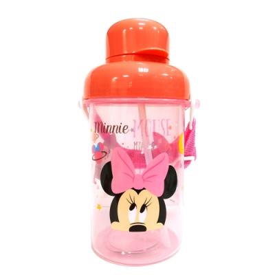BabyPark 迪士尼吸管式透明冷水壺300ml-星星米妮
