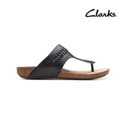 Clarks 街頭風尚 Un Perri Vibe 女涼拖鞋 黑色 CLF48688SS20