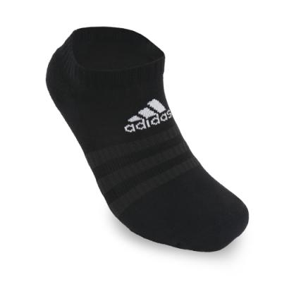 adidas 襪子 踝襪 吸震 基本款 6雙入 黑 DZ9389