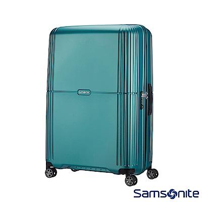 Samsonite新秀麗 25吋Orfeo 簡約方正線條PC嵌入式TSA海關鎖行李箱(湖水